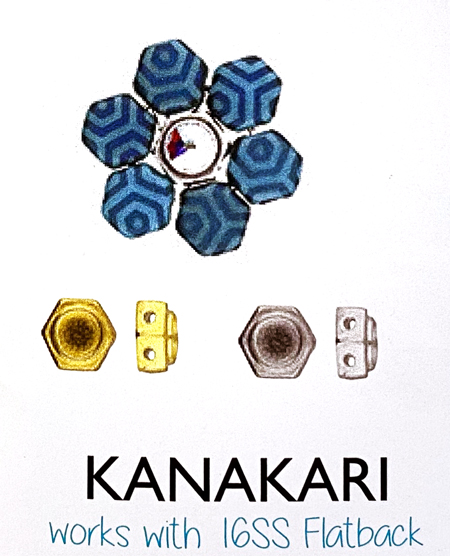 Kanakari (ハニカムビーズ用パーツ)
