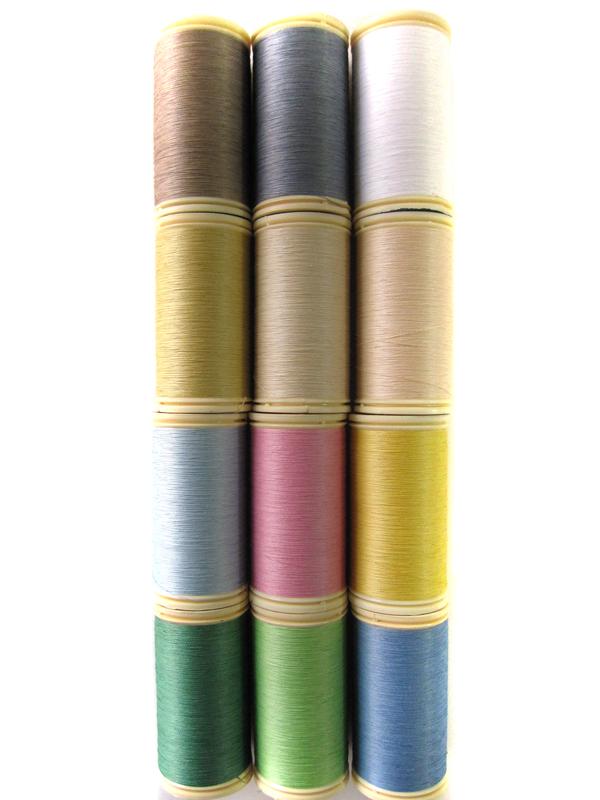 ★オートクチュール刺繍糸フィラガン12色アソートNo.2(パステルトーン)