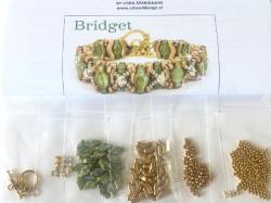 ビーズセット No.4(英語レシピ付) Bridget Bracelet