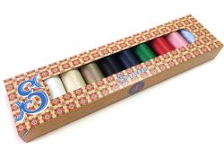 オートクチュール刺繍糸フィラガン8色セレクトセット 化粧箱付き