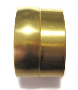 真鍮ブレスレットカフ 約0.75インチ幅 比較