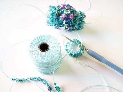 S-Lon クロッシェ用糸 使用例